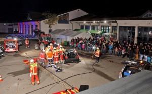 """Die """"Lange Nacht der Feuerwehr"""" in Amstetten bot spektakuläre Einblicke in die Arbeit der Rettungskräfte. Foto: bwk"""