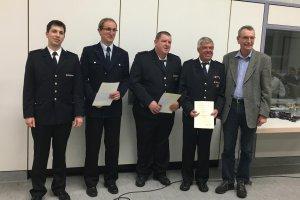Ehrung 2018 - Feuerwehr Amstetten
