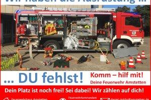 Mitgliederwerbung Feuerwehr Amstetten